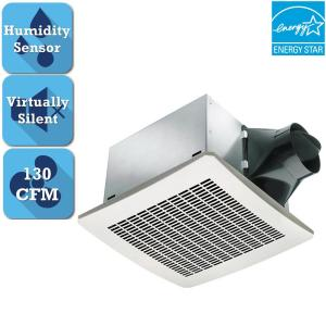 Delta Breez Signature Series 130 CFM Humidity Sensing Ceiling Bathroom Exhaust... by Delta Breez