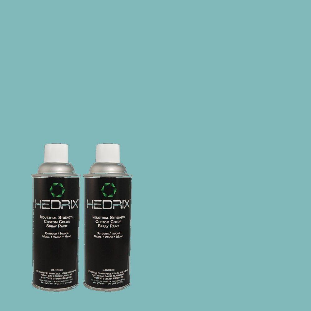 Hedrix 11 oz. Match of MQ4-51 Adonis Semi-Gloss Custom Spray Paint (8-Pack)