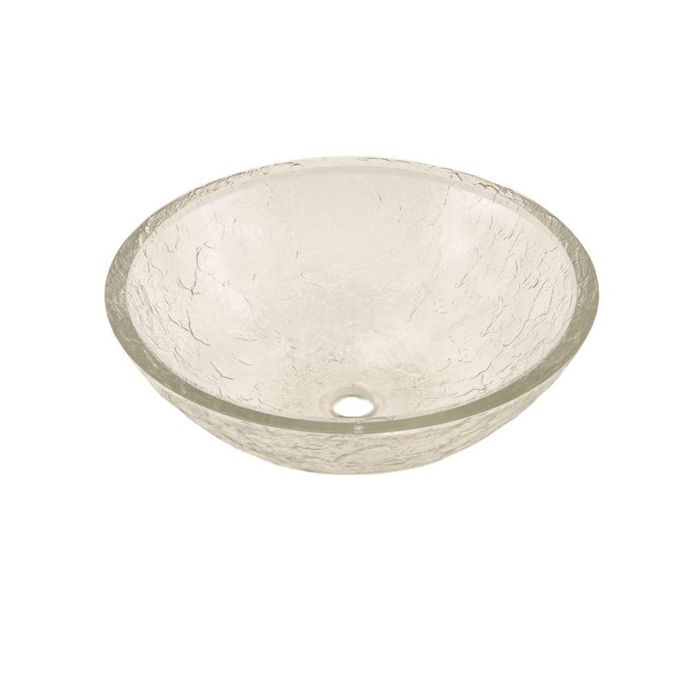 JSG Oceana Vessel Sink in Crystal