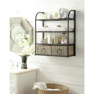 Storage Rack With Two Baskets
