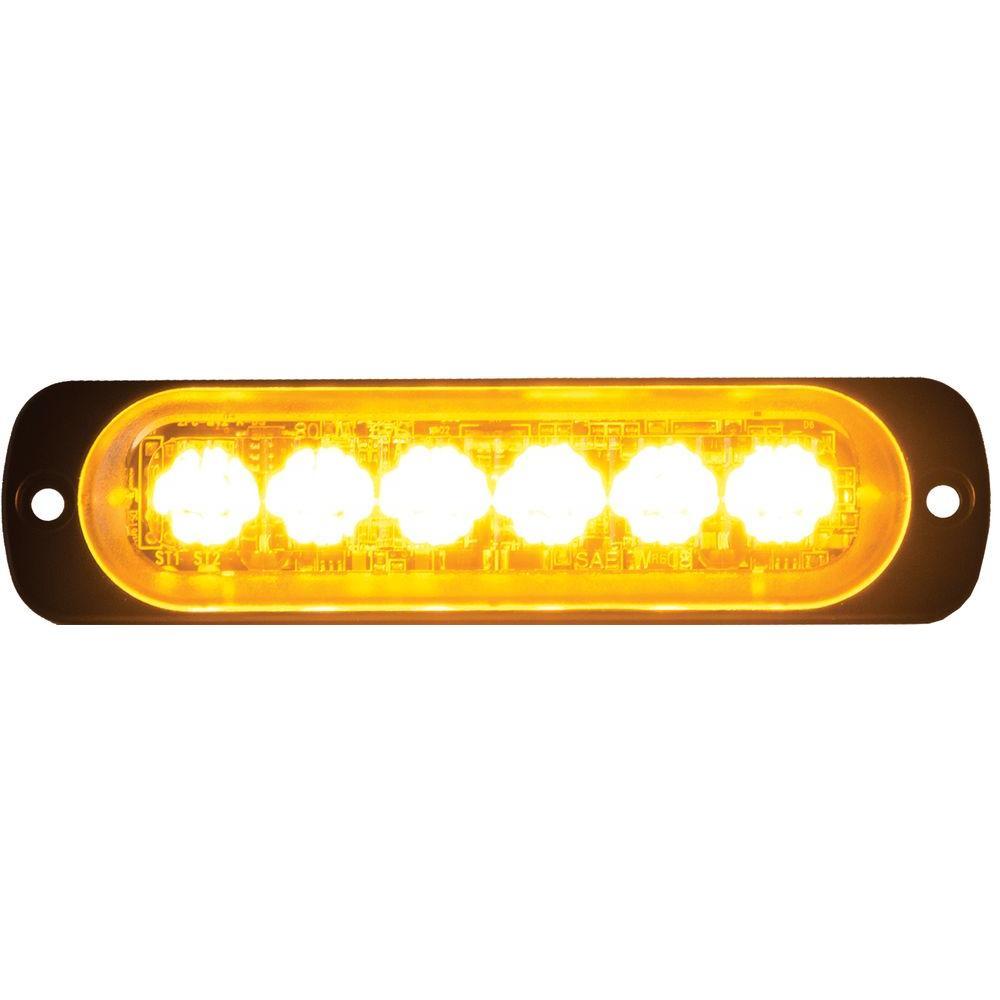 LED Amber Horizontal Strobe Light