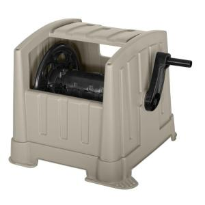 Click here to buy Suncast 100 ft. Hideaway Hose Reel by Suncast.