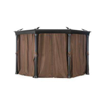 Universal Curtain for Round Gazebos