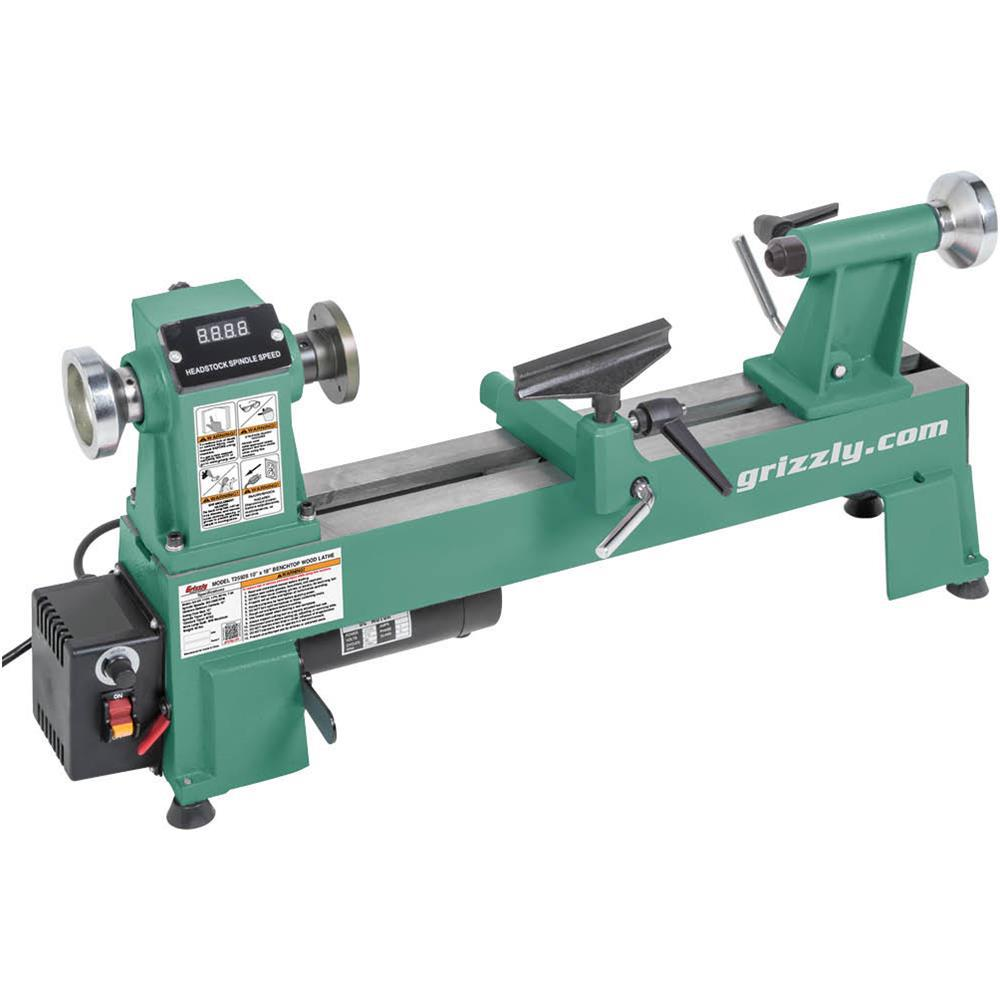 Grizzly Industrial 10 In. X 18 In. Variable-Speed Wood