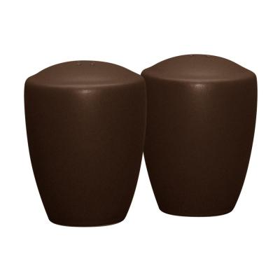 Colorwave 3-3/8 in. Chocolate Salt and Pepper