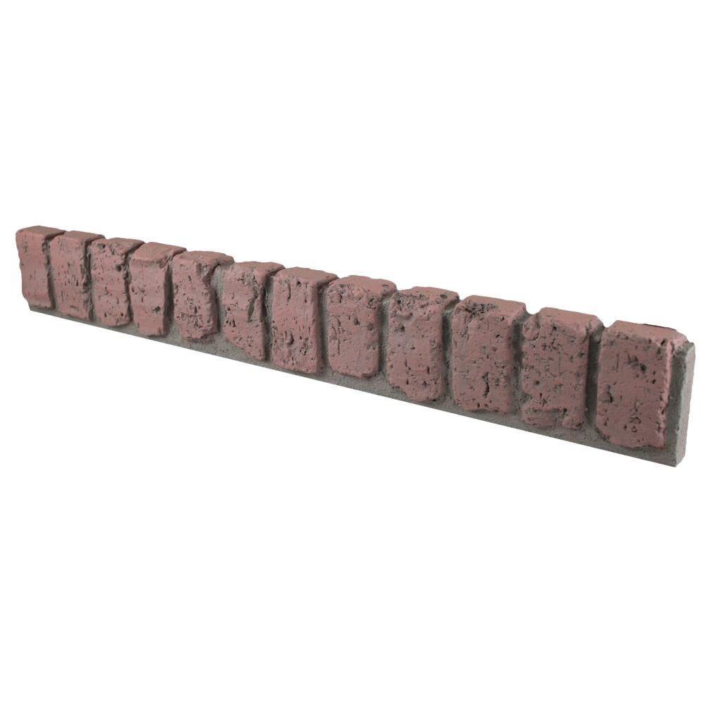 Redstone 31-1/2 in. x 4-1/2 in. x 1-3/4 in. Faux Brick Window/Door Trim