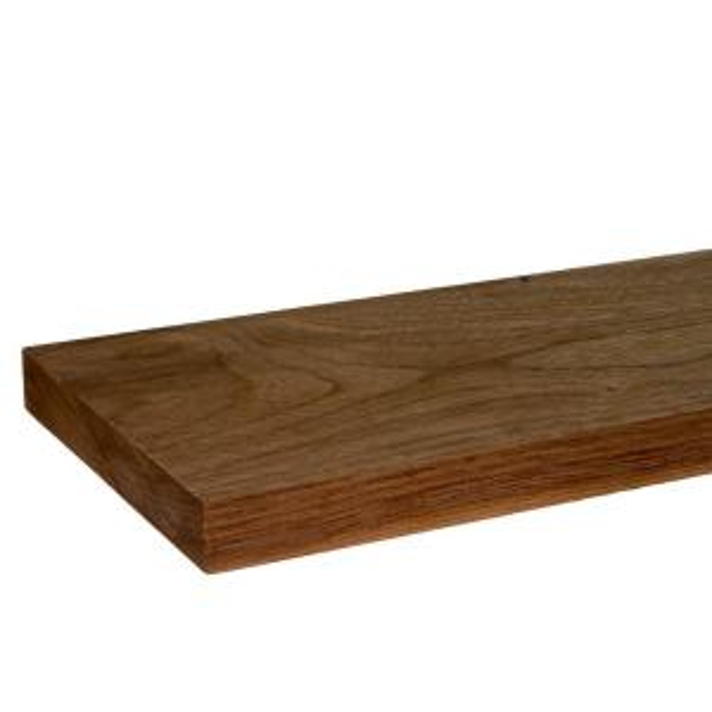 1 in. x 6 in. x 6 ft. S4S Walnut Board