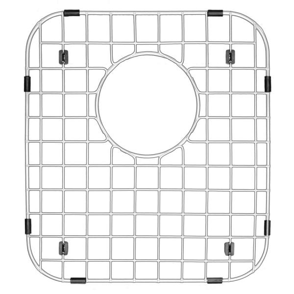 11-7/8 in. x 13-1/8 in. Stainless Steel Bottom Grid