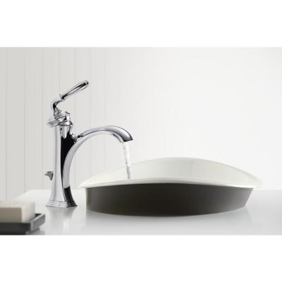Devonshire Single Hole Single Handle Water-Saving Bathroom Faucet in Polished Chrome
