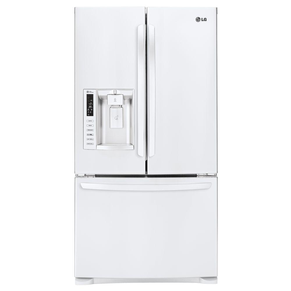 LG Electronics 268 Cu Ft 3 Door French