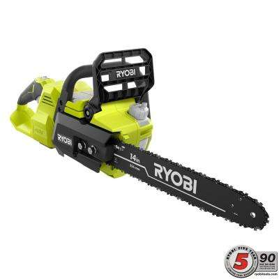 14 in. 40-Volt Cordless Brushless Lithium-Ion Chainsaw - Battery and Charger Not Included