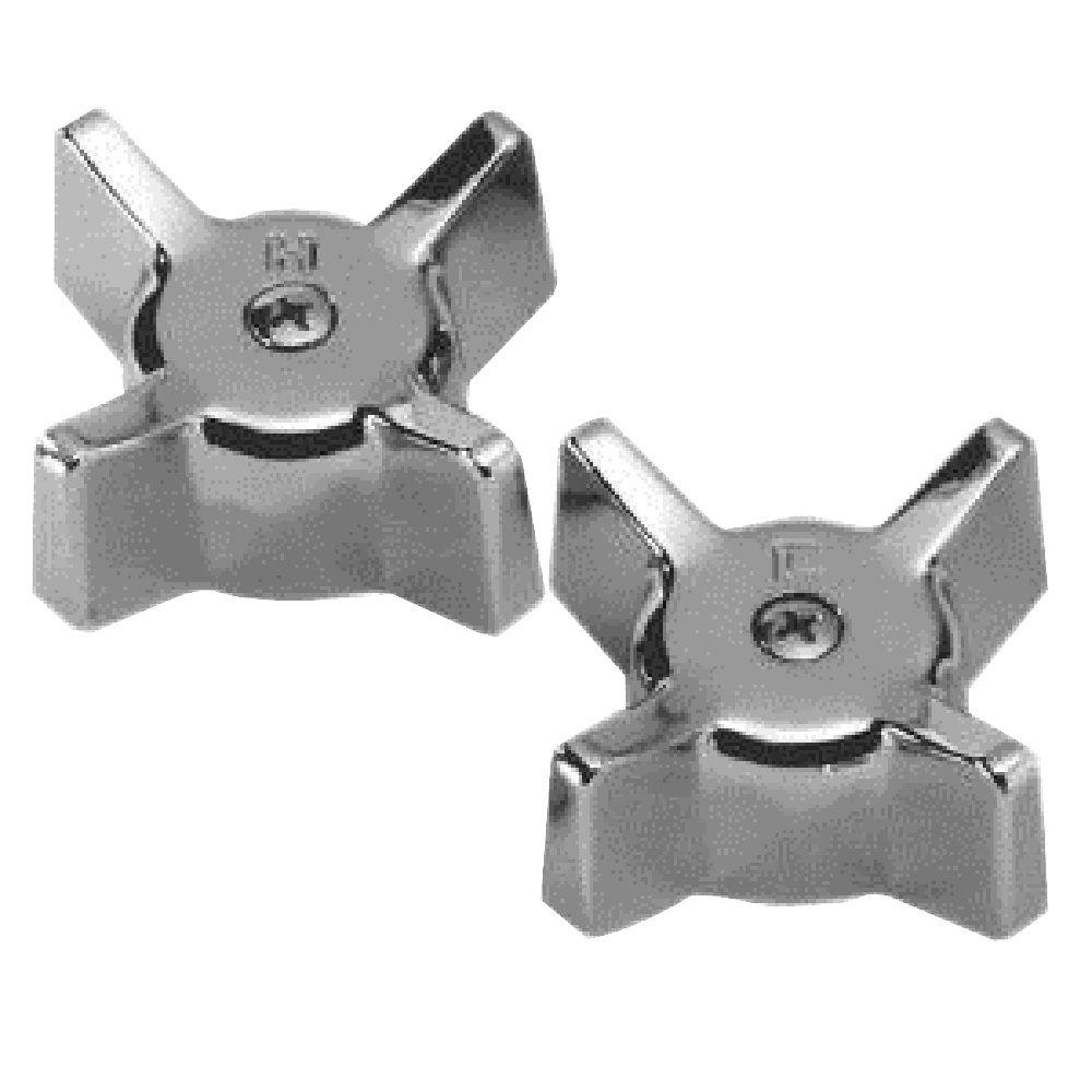 PartsmasterPro Handles for Gerber, Chrome-58089 - The Home Depot