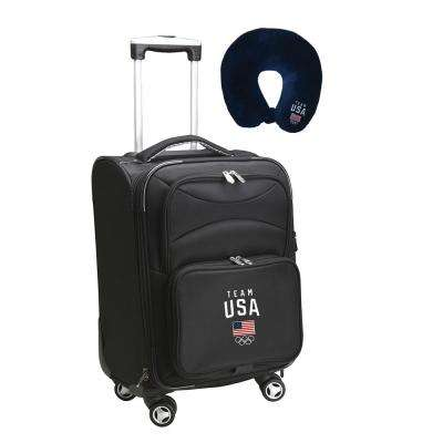 Olympics Team USA Olympics Luggage Carry-On 21 in. Softside Nylon Spinner