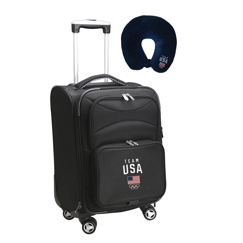 Mojo Olympics Team USA Olympics Luggage Carry-On 21 in. Softside Nylon  Spinner-USOCL202 - The Home Depot 569c99c69