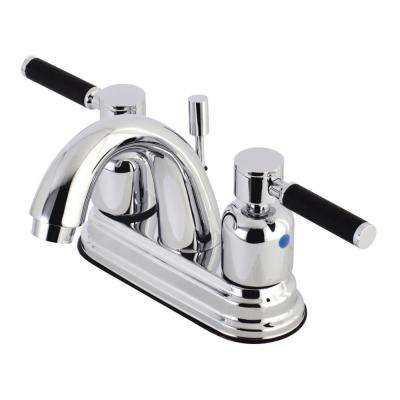 Kaiser 4 in. Centerset 2-Handle Bathroom Faucet in Chrome