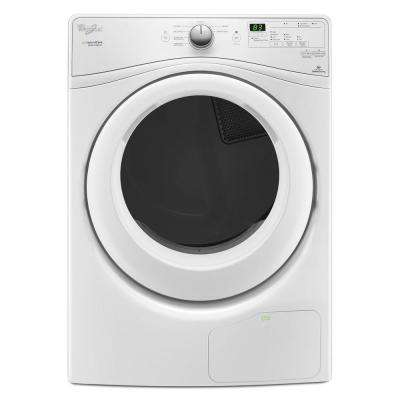 Duet 7.4 cu. ft. Ventless Electric Dryer with Heat Pump Technology in White, ENERGY STAR
