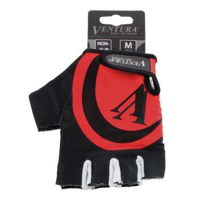 Large/X-Large Red Bike Gloves
