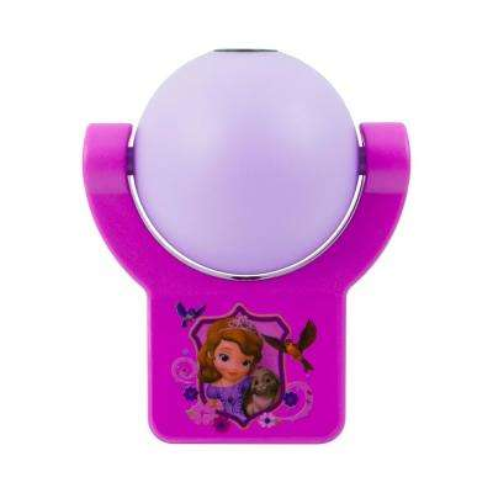 Disney Sophia The First Light Sensing Projectable LED Night Light