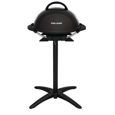 Indoor/Outdoor Electric Grill in Black
