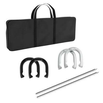 Professional Horseshoe Toss Set with Carrying Case