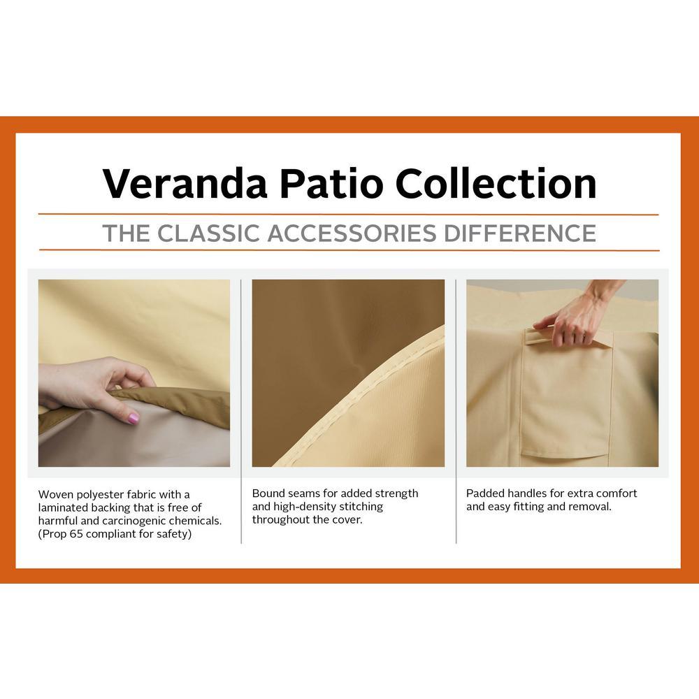 Classic Accessories Veranda Offset Patio Umbrella Cover 73152 The Home Depot