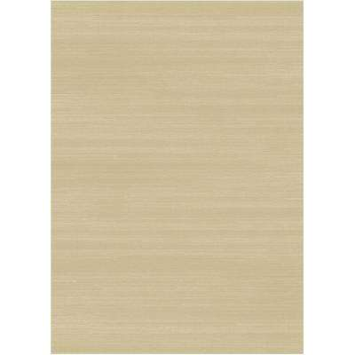 Washable Solid Textured Cream 5 Ft X 7 Area Rug