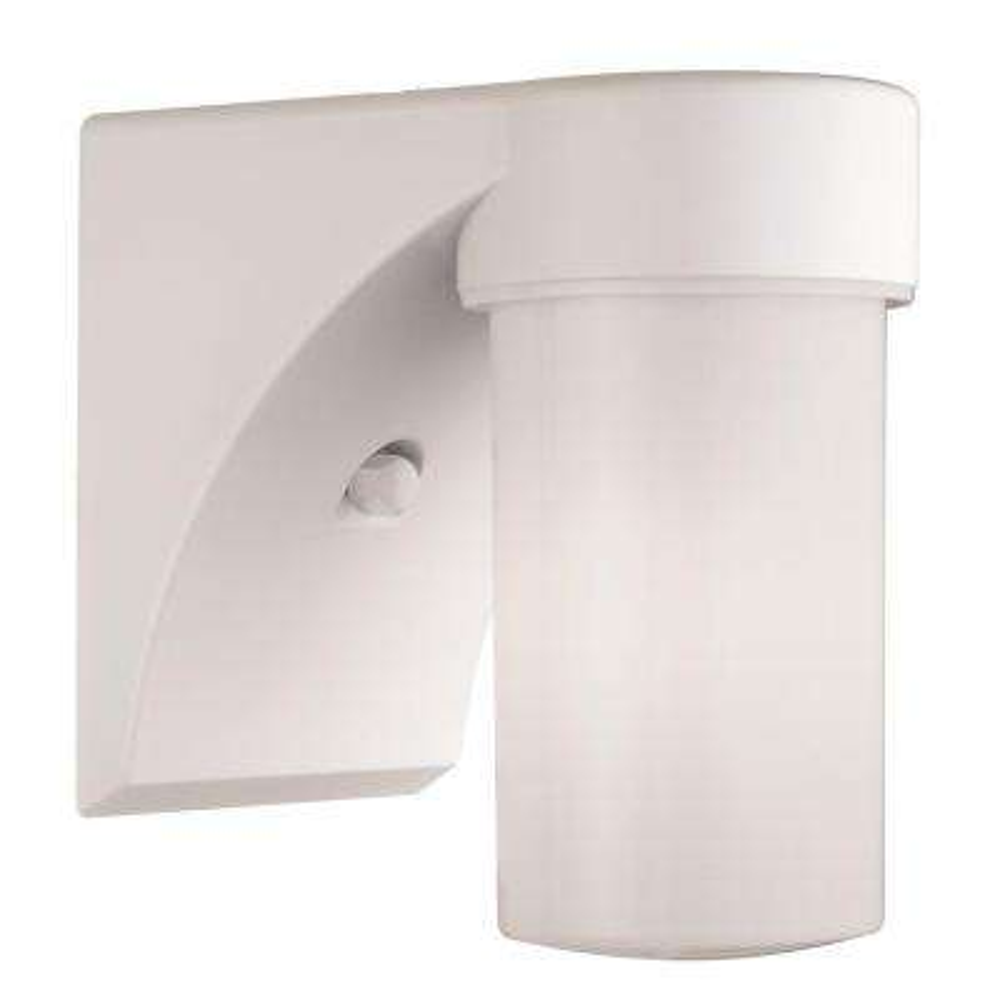 White Outdoor High Pressure Sodium Entry Light