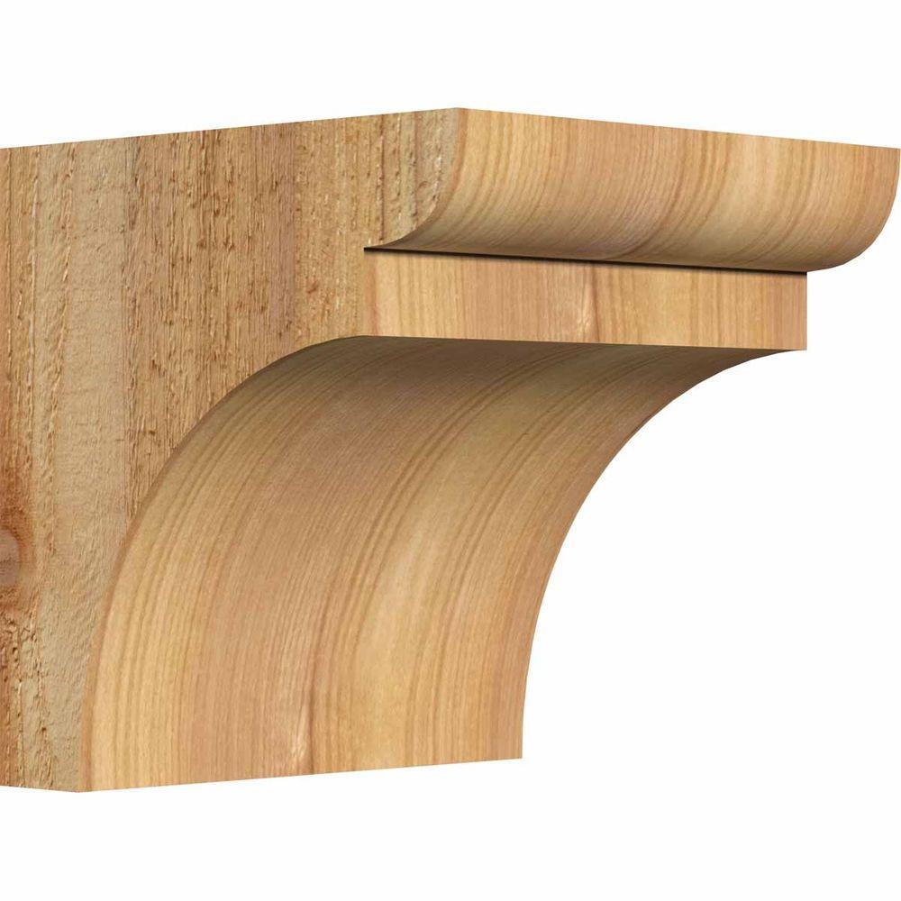 Ekena Millwork 6 In X 6 In X 6 In Western Red Cedar
