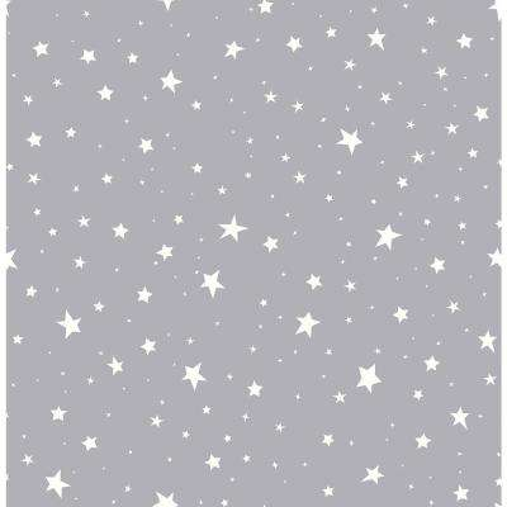 Grey Stars Wallpaper