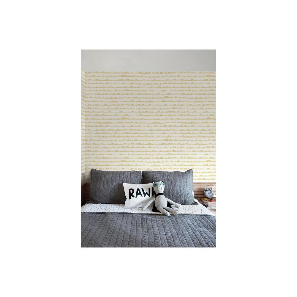 56 sq. ft. Hill and Horizon Wallpaper