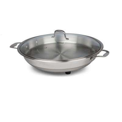 12 in. Polished Interior Classic Electric Skillet