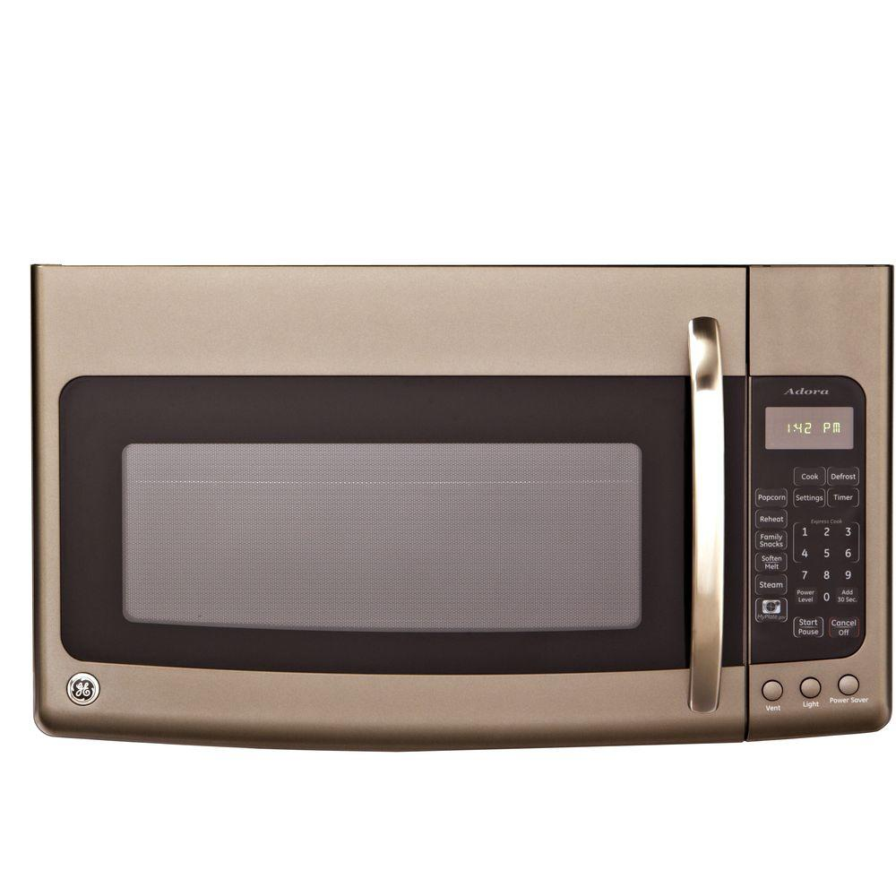 GE Adora 1.9 cu. ft. Over the Range Microwave in Slate with Sensor Cooking-DISCONTINUED