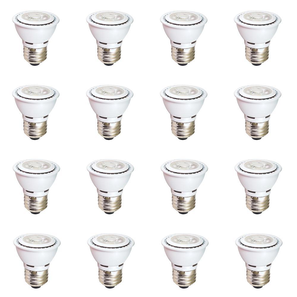 50-Watt Equivalent (3000k) MR16 LED Light Bulb Warm White (12-Pack)