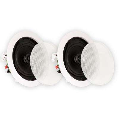 In-Ceiling Speakers Home Theater Surround Sound Pair