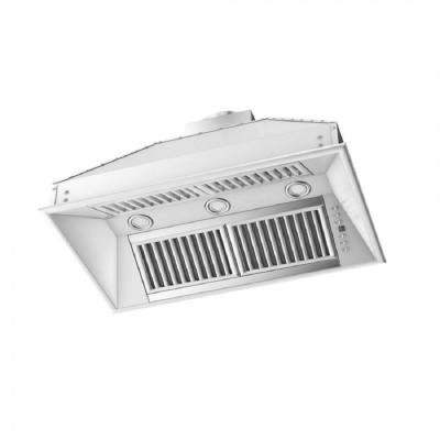 ZLINE 28 in. 1200 CFM Island Insert Range Hood in Stainless Steel