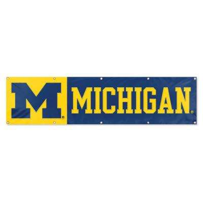 Michigan Wolverines Giant 8 ft. x 2 ft. Banner