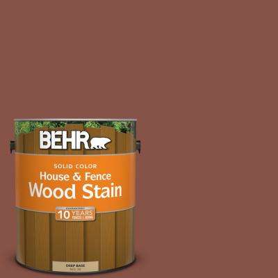 1 gal. #PPU2-18 Spice Solid House and Fence Wood Stain