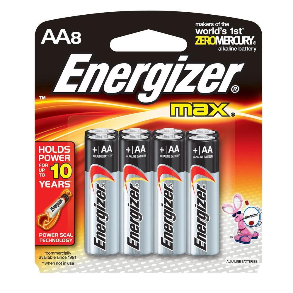 Alkaline AA Battery 8 Pack
