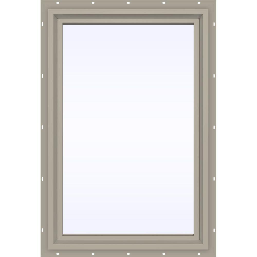 23.5 in. x 29.5 in. V-4500 Series Fixed Picture Vinyl Window