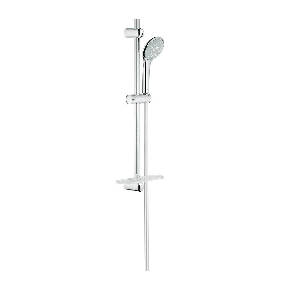 Euphoria 2-Spray Hand Shower in StarLight Chrome with Shower Bar