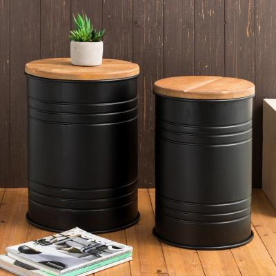 Black Storage Baskets Home Accents The Home Depot