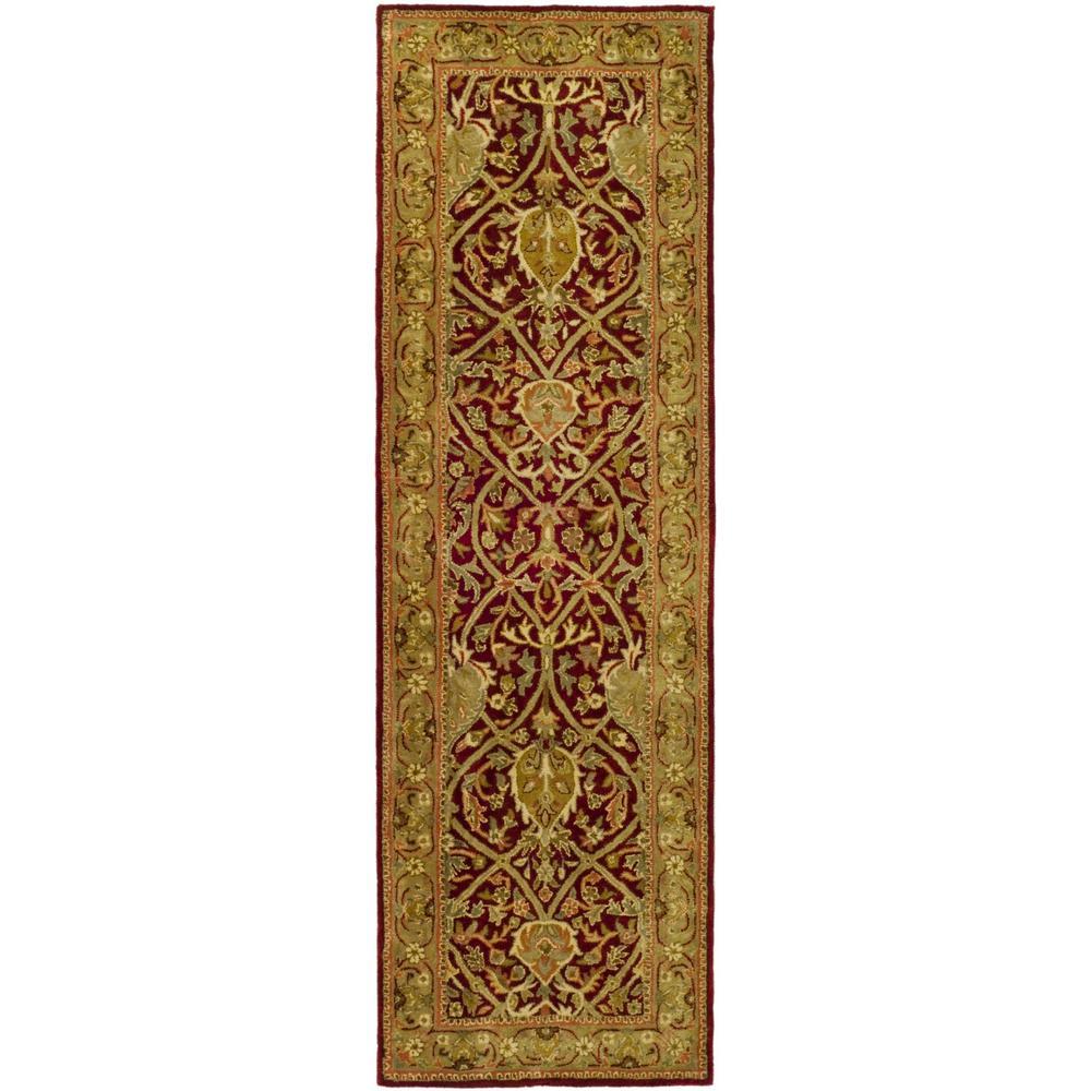 Safavieh Persian Legend Red/Gold 2 ft. 6 in. x 12 ft. Runner Rug