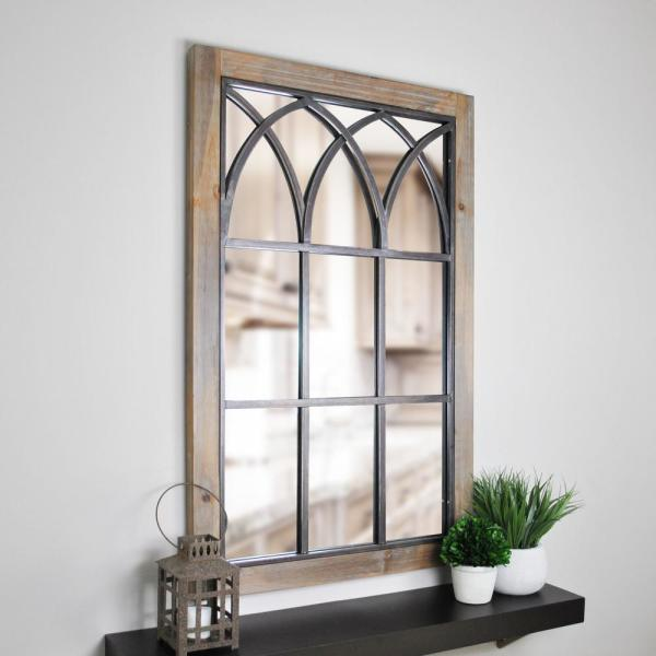 Firstime Grandview Arched Window Decorative Mirror 70015