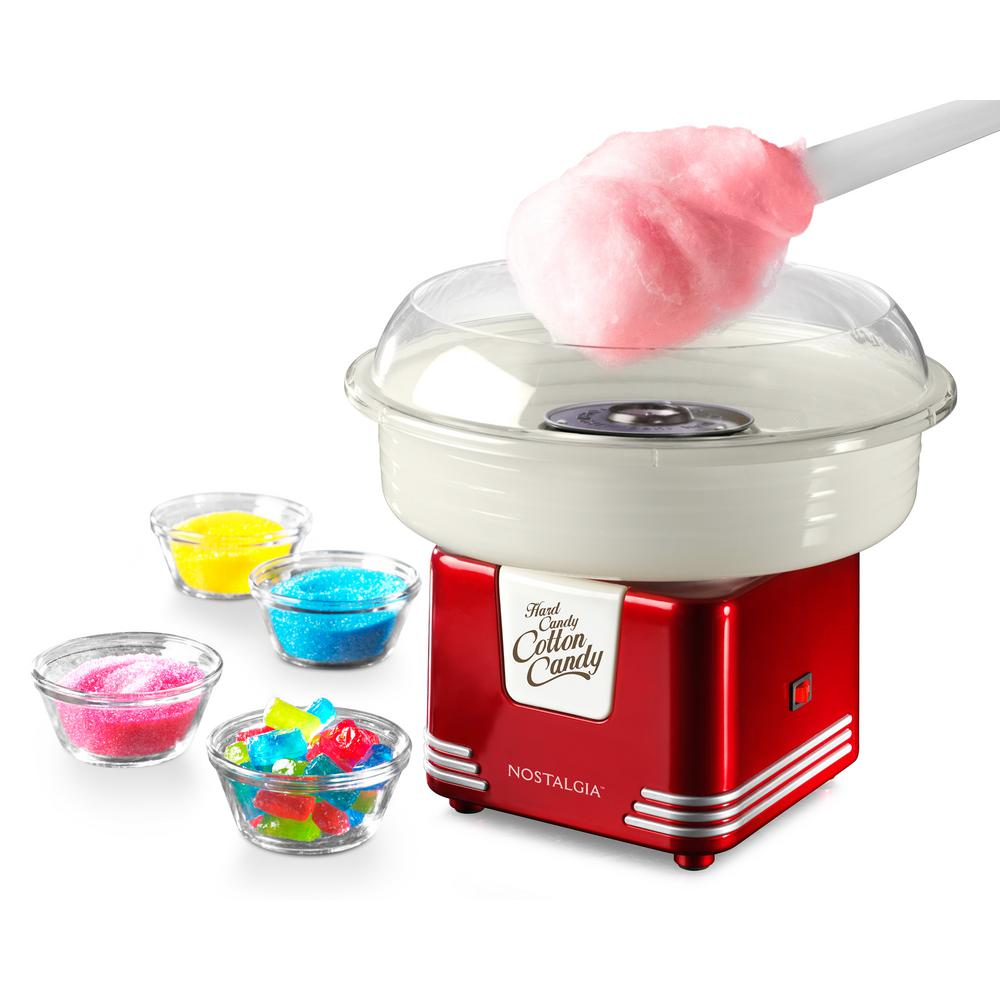 Nostalgia Retro Hard and Sugar Free Cotton Candy Maker