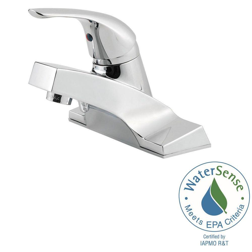 Pfister Centerset Kitchen Chrome Faucet, Chrome Centerset