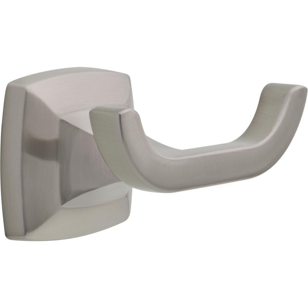 Delta Delta Portwood Towel Hook in SpotShield Brushed Nickel