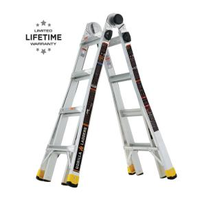 Gorilla Ladders 18ft Reach MPX Aluminum Multi-Position Ladder Deals