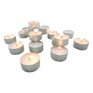 Click here to buy Stonebriar Collection Long Burning Tealight Candles (200-Pack) by Stonebriar Collection.