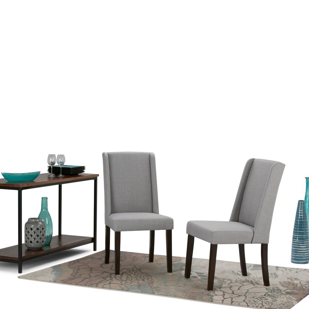 Simpli Home Sotheby Dove Grey Dining Chair (Set Of 2)