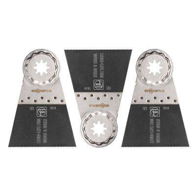 2-9/16 in. E-Cut Long-Life Saw Blade Starlock Plus (3-Pack)